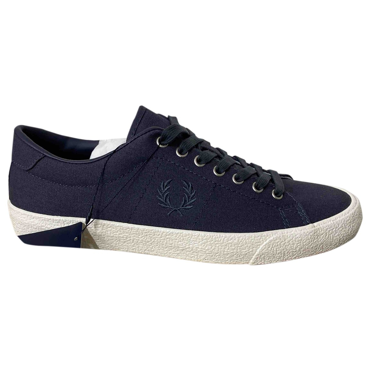 Fred Perry - Baskets   pour homme en toile - gris