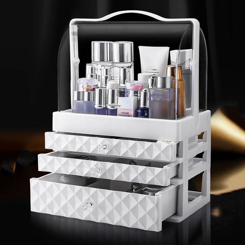 Ericdress Plastic Simple Plain Storage Boxes