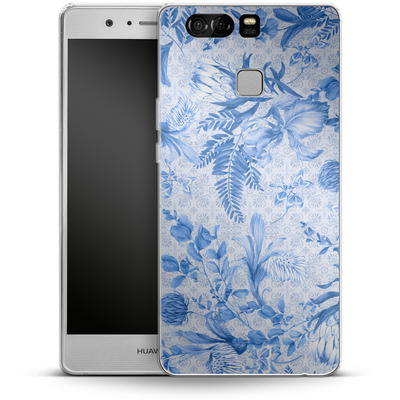 Huawei P9 Silikon Handyhuelle - Santorini Breeze von Stephanie Breeze