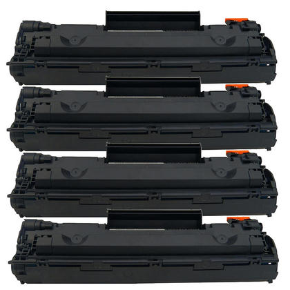 Compatible HP 78A CE278A Black Toner Cartridge - Economical Box - 4/Pack (4 in 1 box)