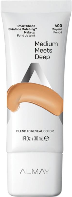 Smart Shade Skintone Matching Makeup - Medium Meets Deep 400