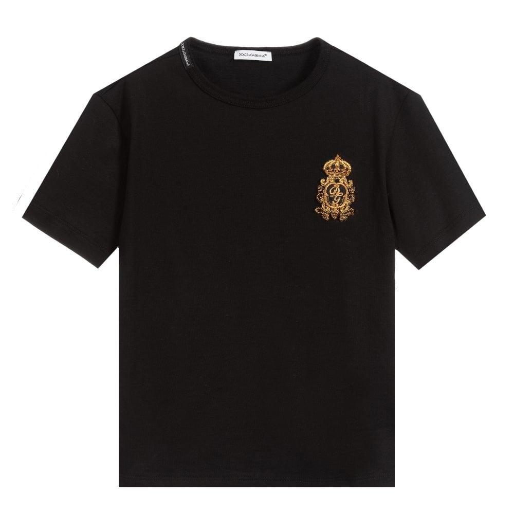 Dolce & Gabbana Dg Crest T-shirt Size: 24/30, Colour: WHITE