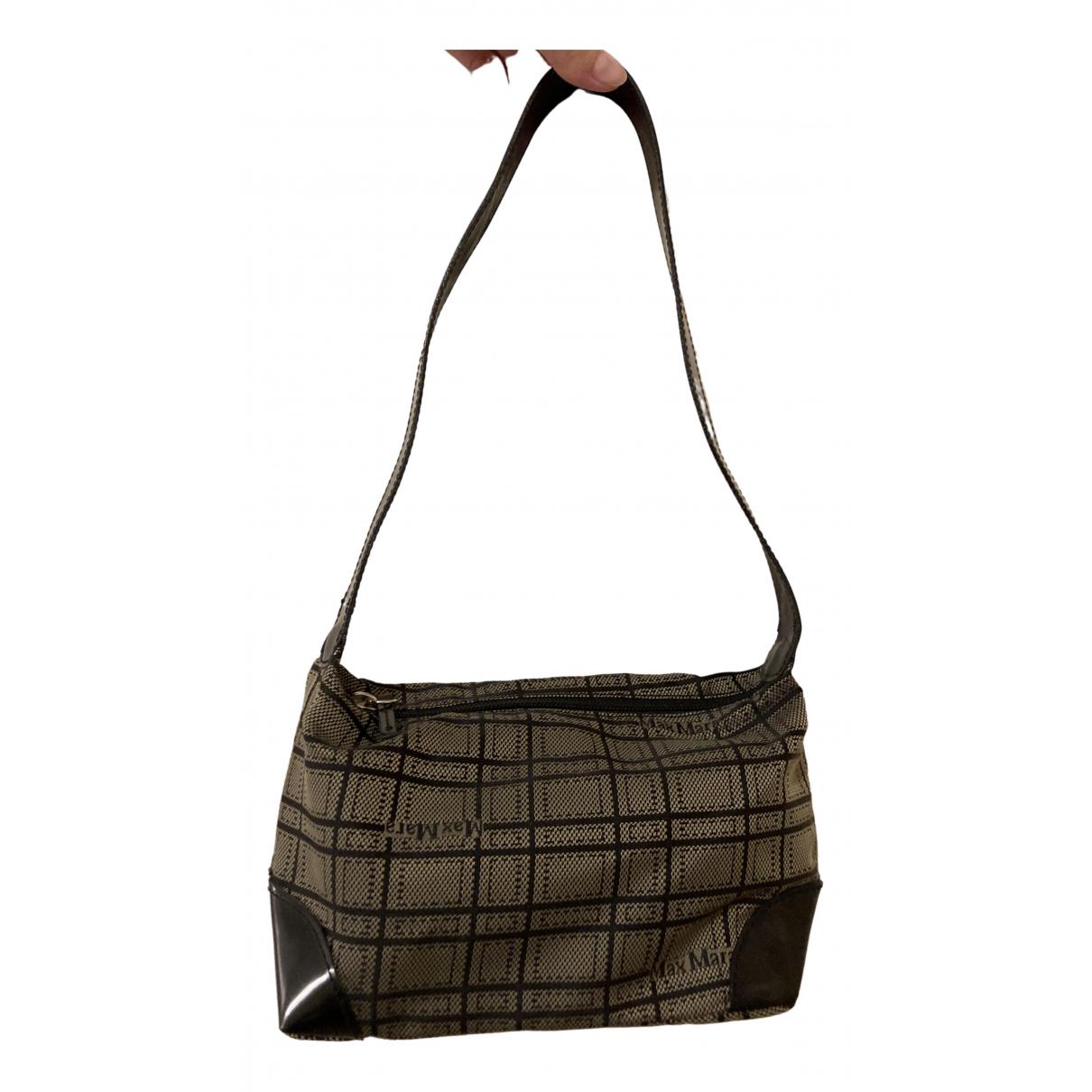 Max Mara \N Black Cloth handbag for Women \N
