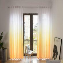 Vorhang mit Farbverlauf Design