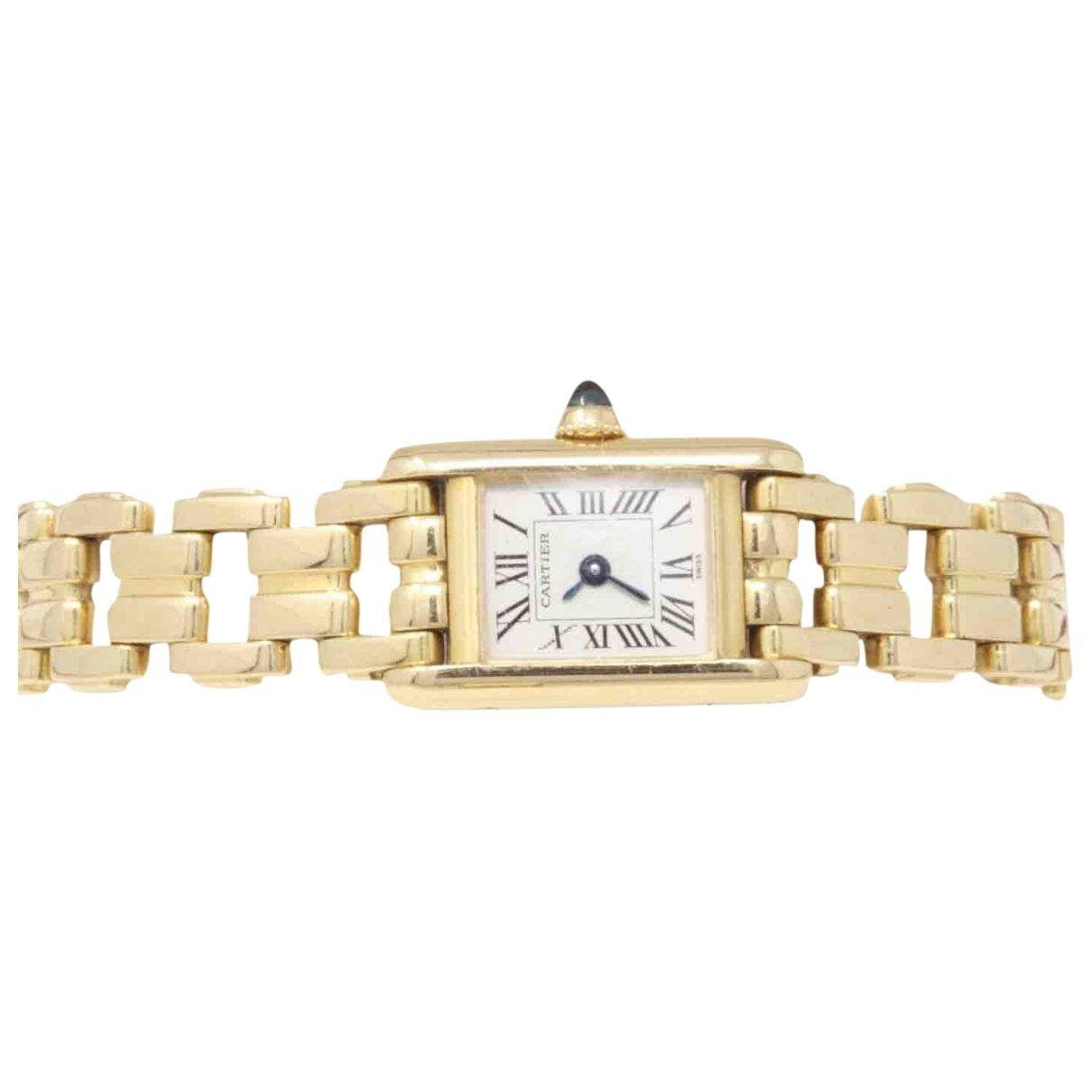 Cartier Tank Louis Cartier Yellow Yellow gold watch for Women \N