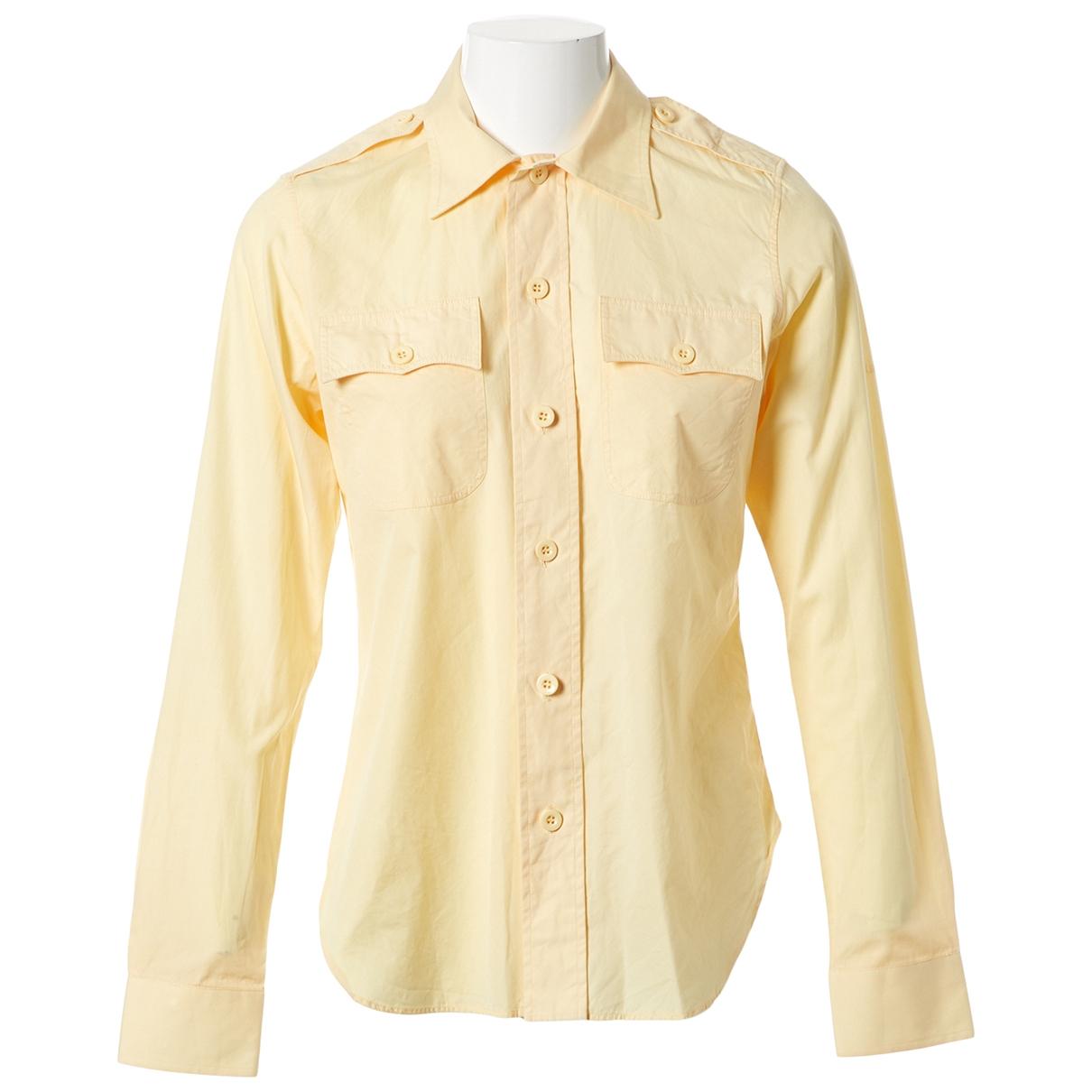 Balenciaga - Top   pour femme en coton - jaune