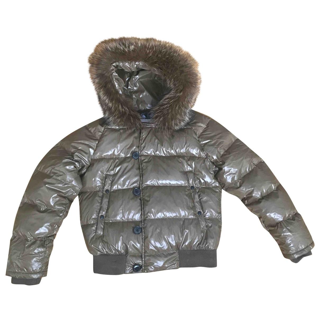 Moncler Fur Hood Khaki coat  for Men 1 0 - 6