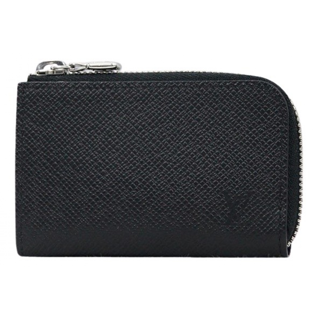 Louis Vuitton \N Black Leather Purses, wallet & cases for Women \N