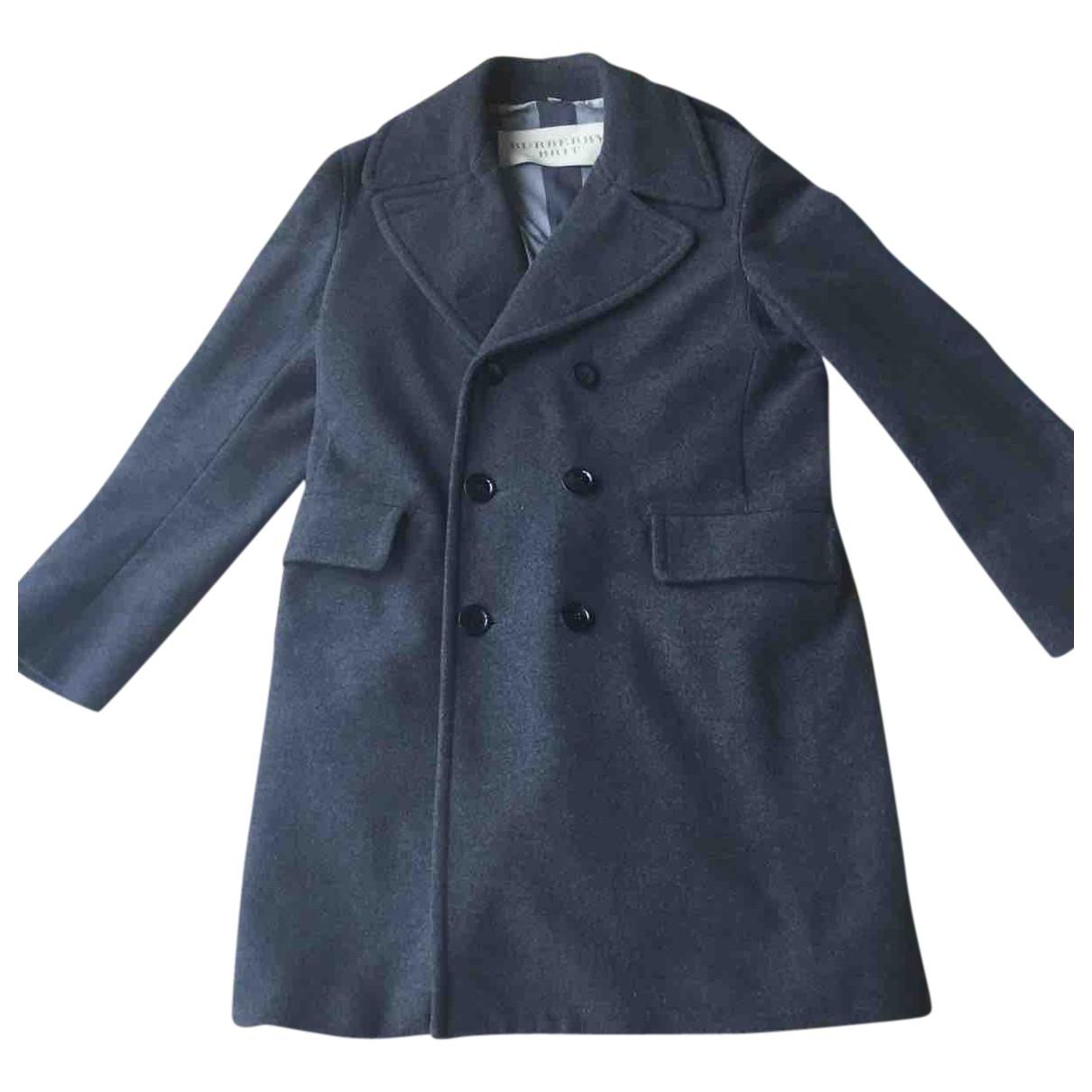 Burberry - Manteau   pour homme en laine - anthracite