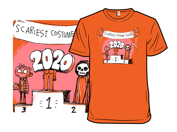 The Scariest Costume Ever T Shirt