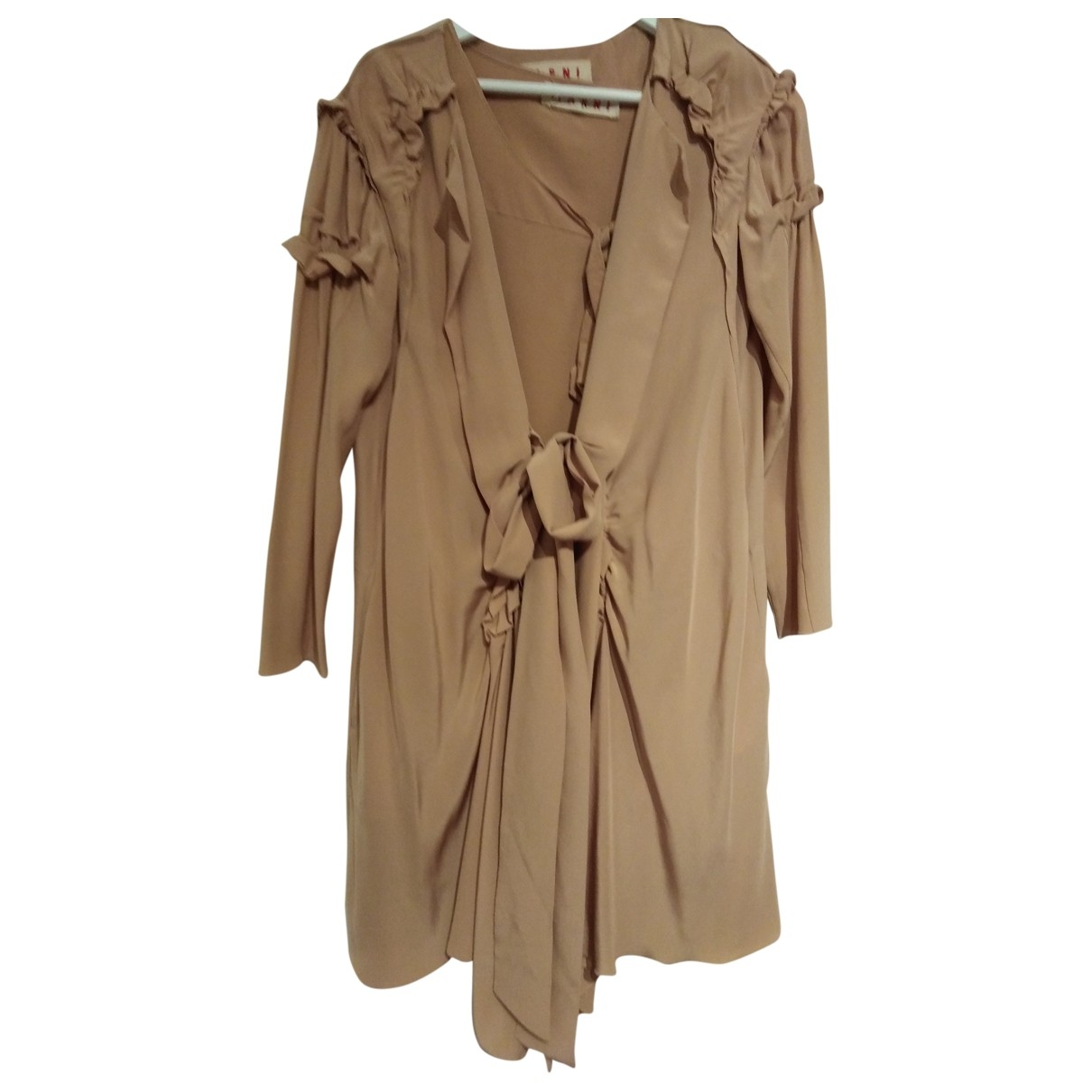 Marni \N Pink Silk dress for Women 40 IT