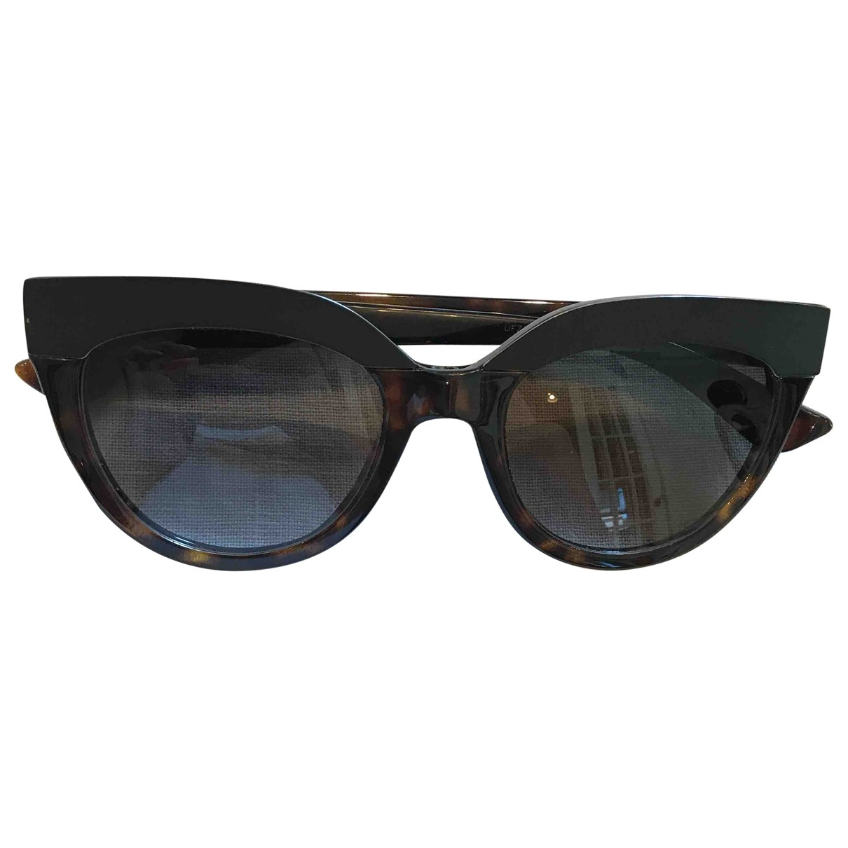Dior \N Brown Sunglasses for Women \N