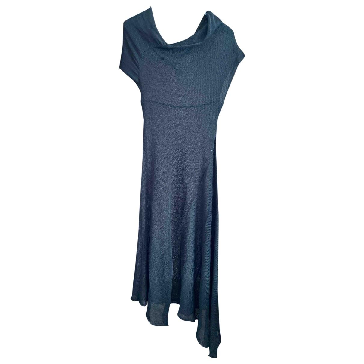 Alessandra Marchi \N Black Cotton dress for Women M International