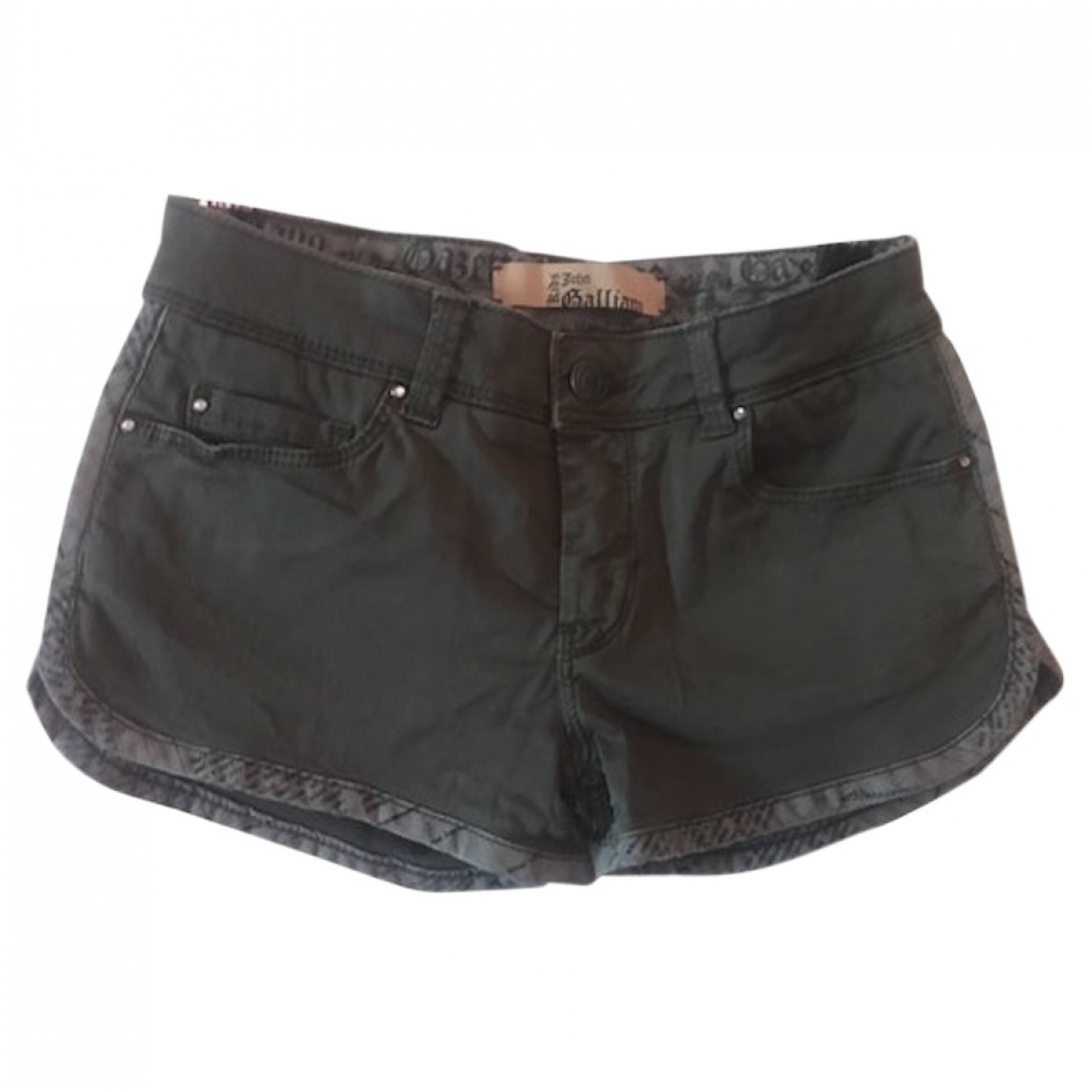 John Galliano \N Khaki Cotton Shorts for Kids 8 years - up to 128cm FR