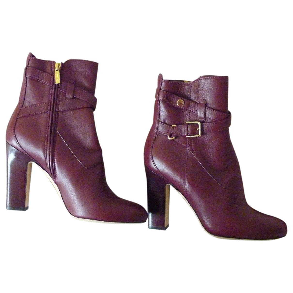 Jimmy Choo - Boots   pour femme en cuir