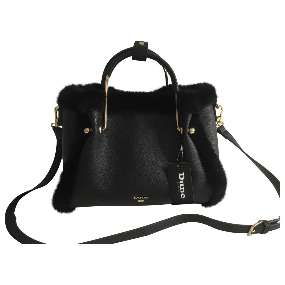 Non Signé / Unsigned \N Black Faux fur handbag for Women \N