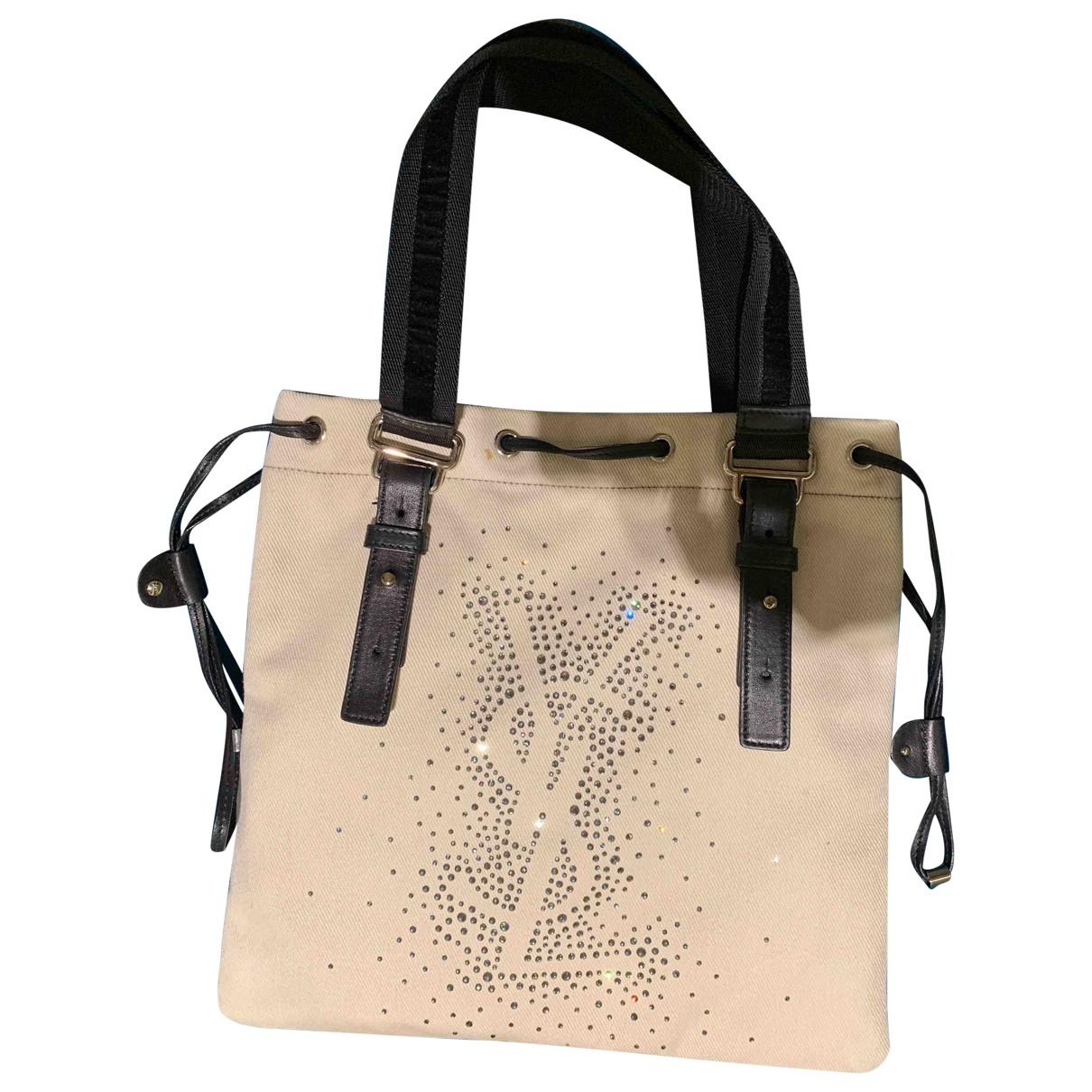 Yves Saint Laurent \N Beige Cloth handbag for Women \N