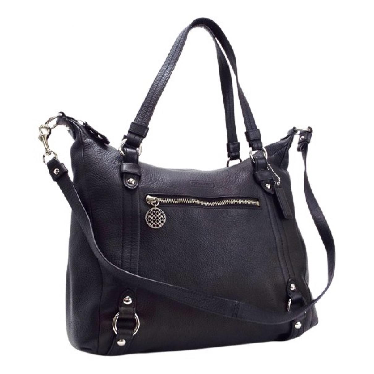 Coach N Black Leather bag for Men N