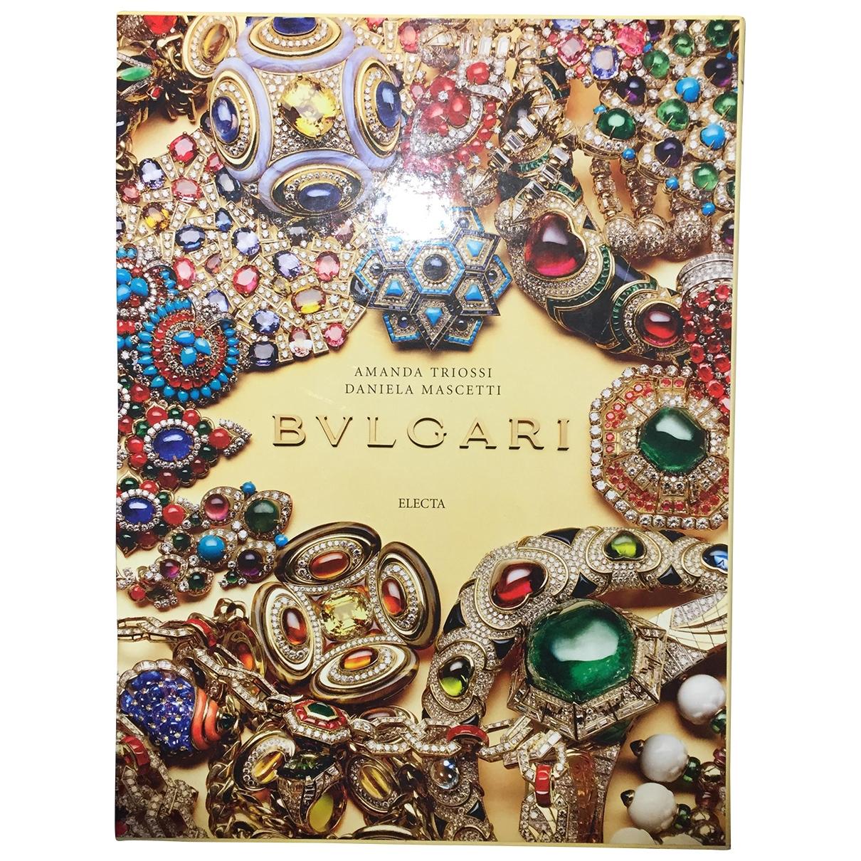 Bvlgari - Mode   pour lifestyle en bois - multicolore