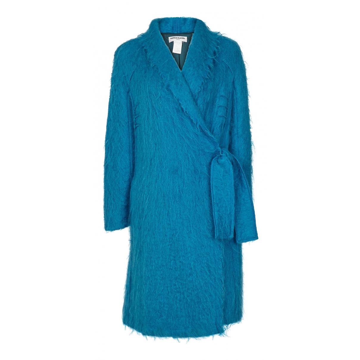 Sonia Rykiel - Manteau   pour femme en laine - bleu