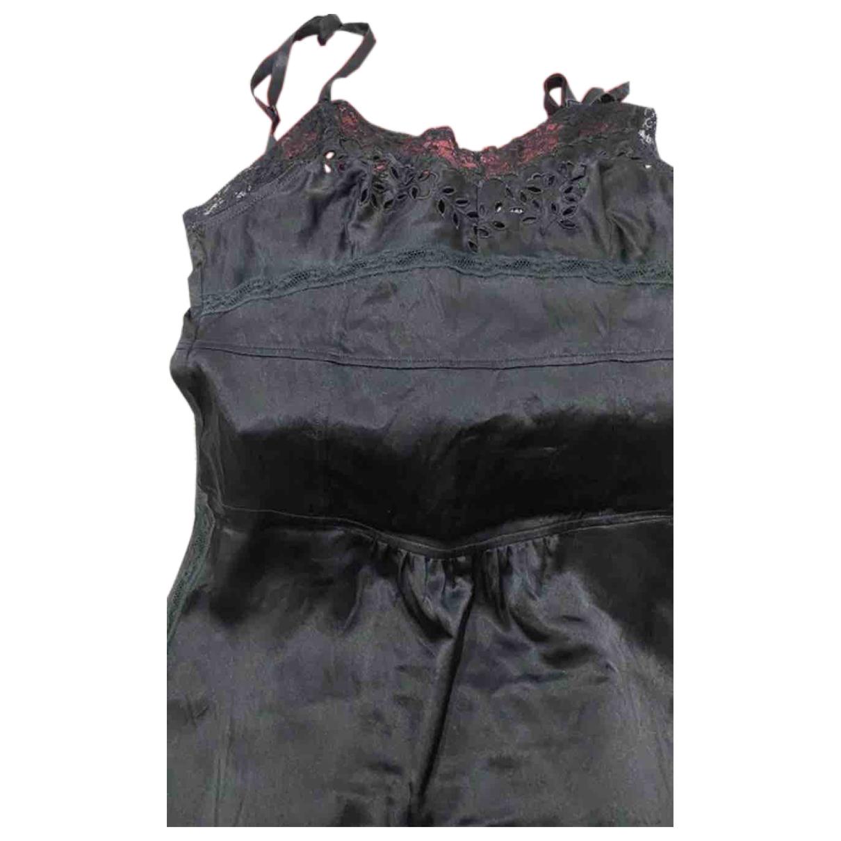 Dolce & Gabbana \N Black Silk dress for Women 36 FR