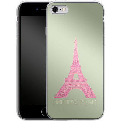 Apple iPhone 6s Silikon Handyhuelle - Oui Oui von Bianca Green
