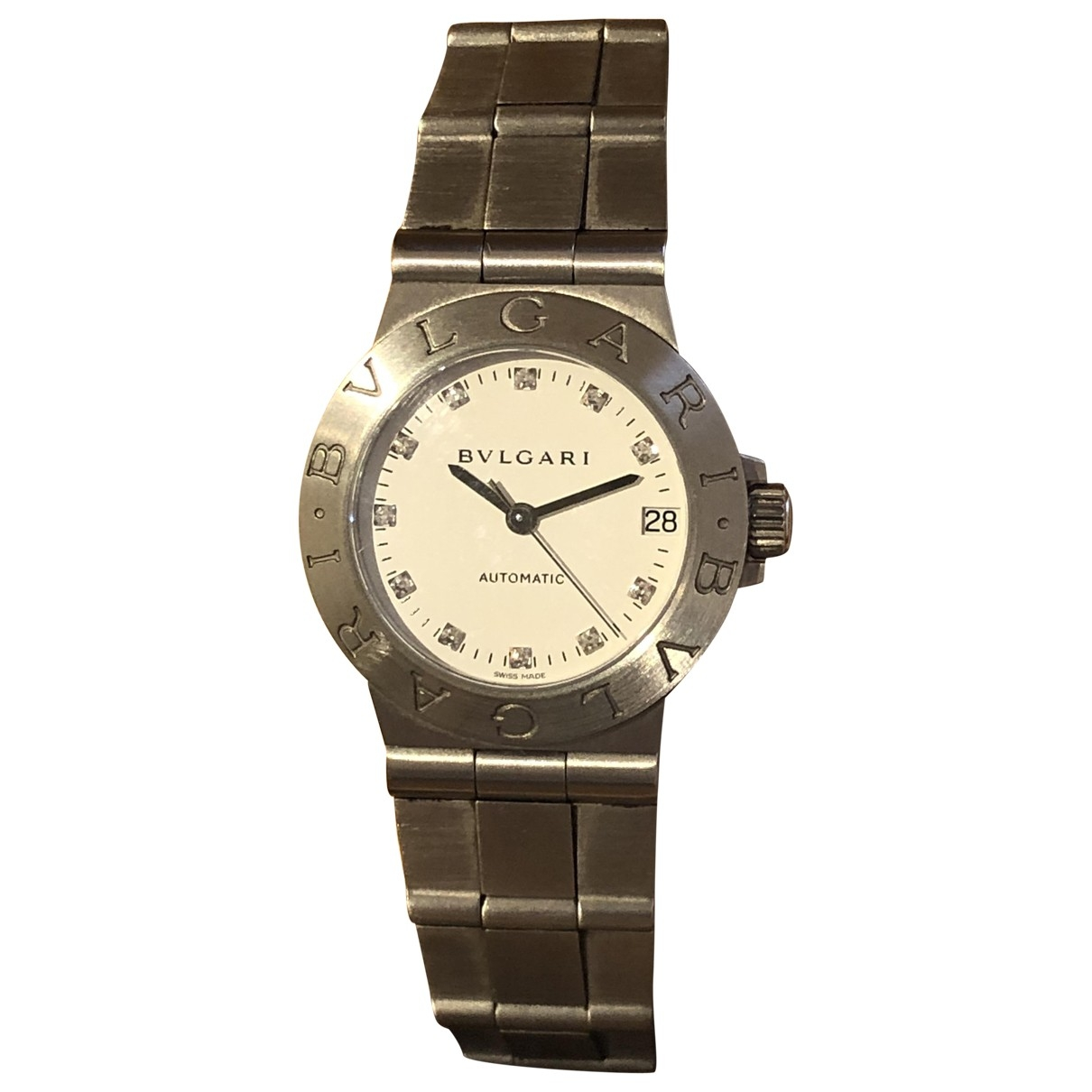 Bvlgari Bulgari Bulgari Grey Steel watch for Women \N