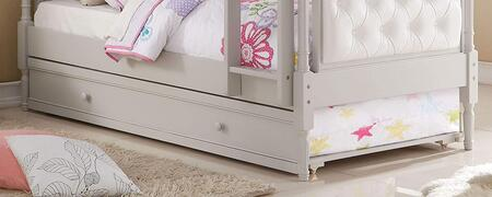 Pearlie Collection 37693 Twin Size Trundle in Antique Gray