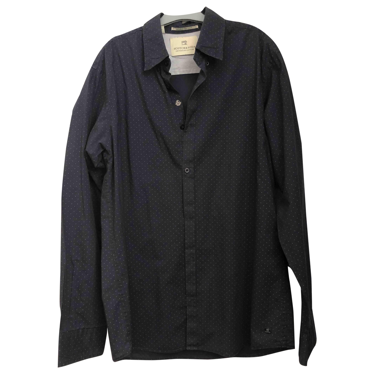 Scotch & Soda - Chemises   pour homme en coton - bleu