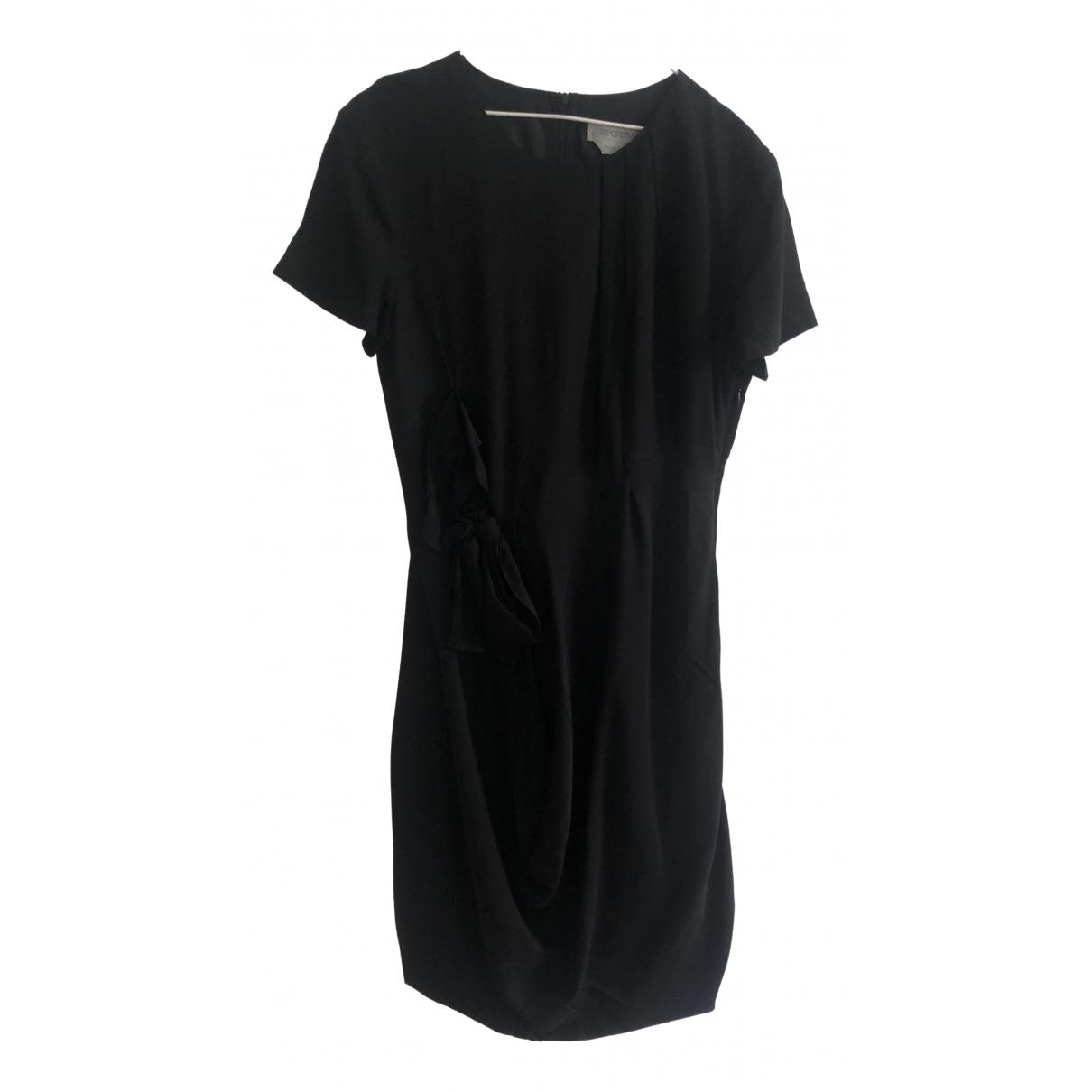 Sport Max - Robe   pour femme en soie - noir