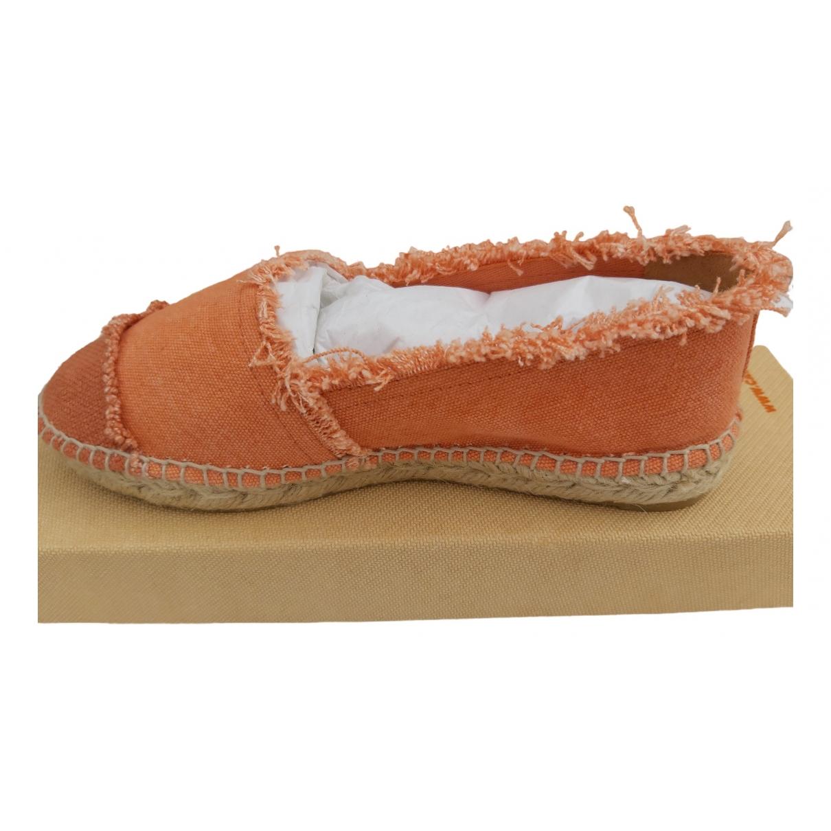 Castaner \N Espadrilles in  Orange Denim - Jeans