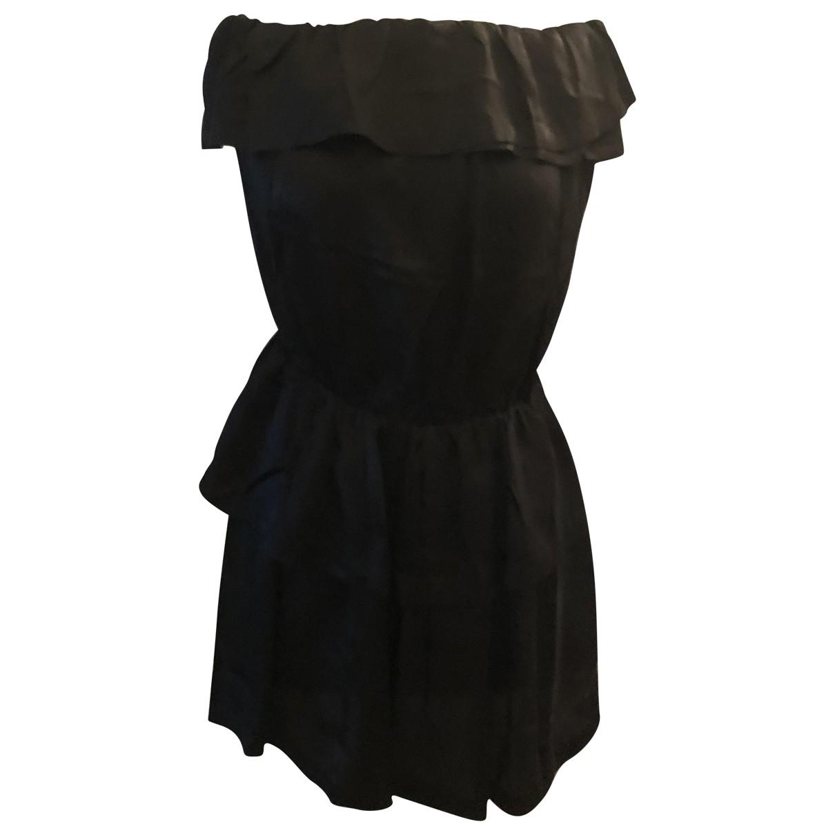 Ba&sh \N Kleid in  Schwarz Viskose