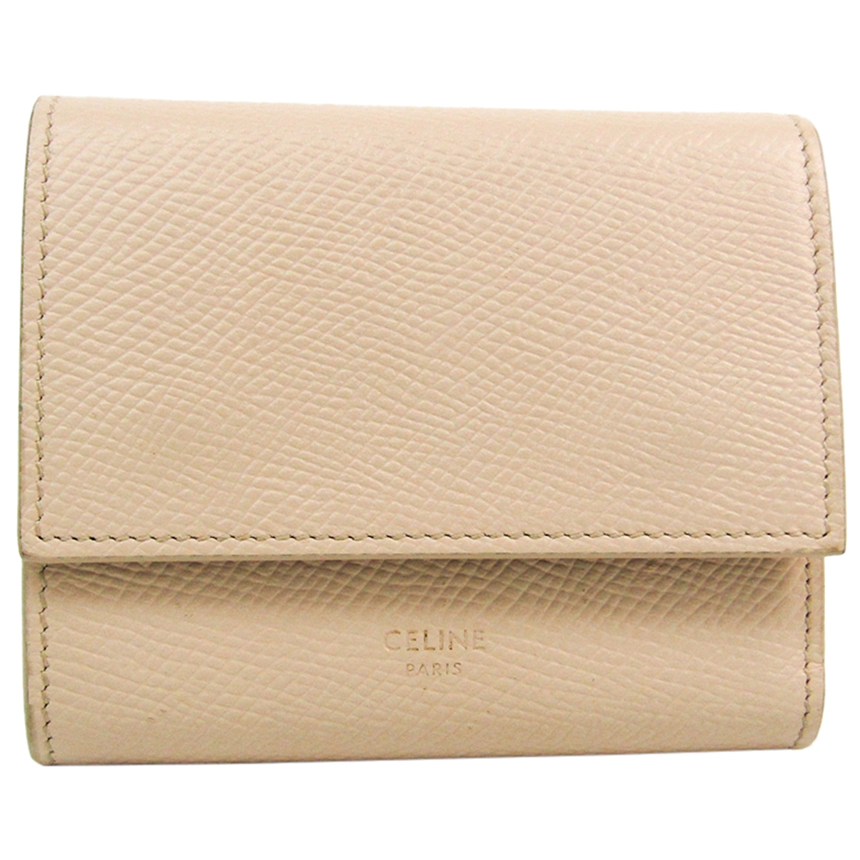 Celine \N Beige Leather wallet for Women \N