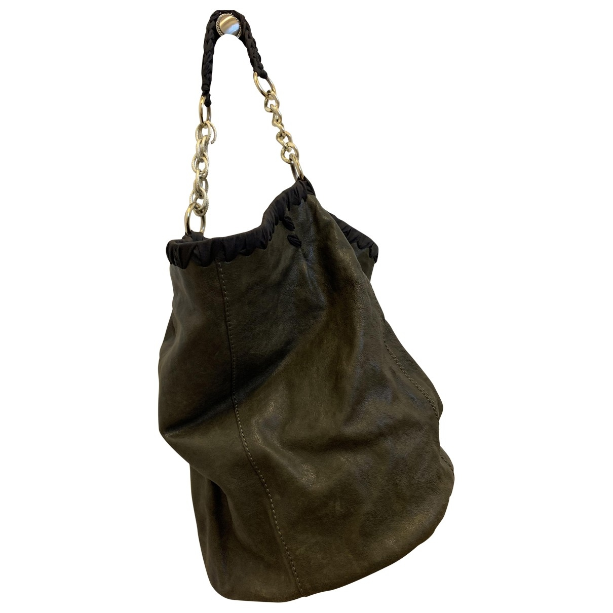 Maliparmi \N Green Leather handbag for Women \N
