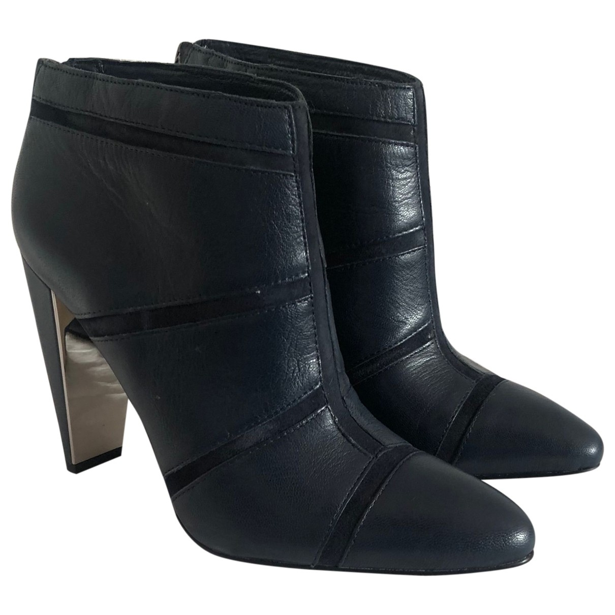French Connection \N Stiefeletten in  Marine Leder