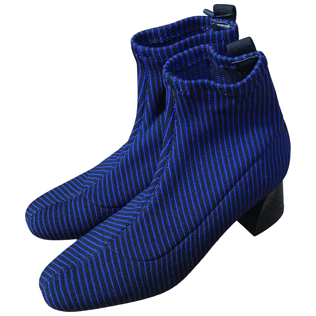 Zara \N Stiefeletten in  Bunt Polyester