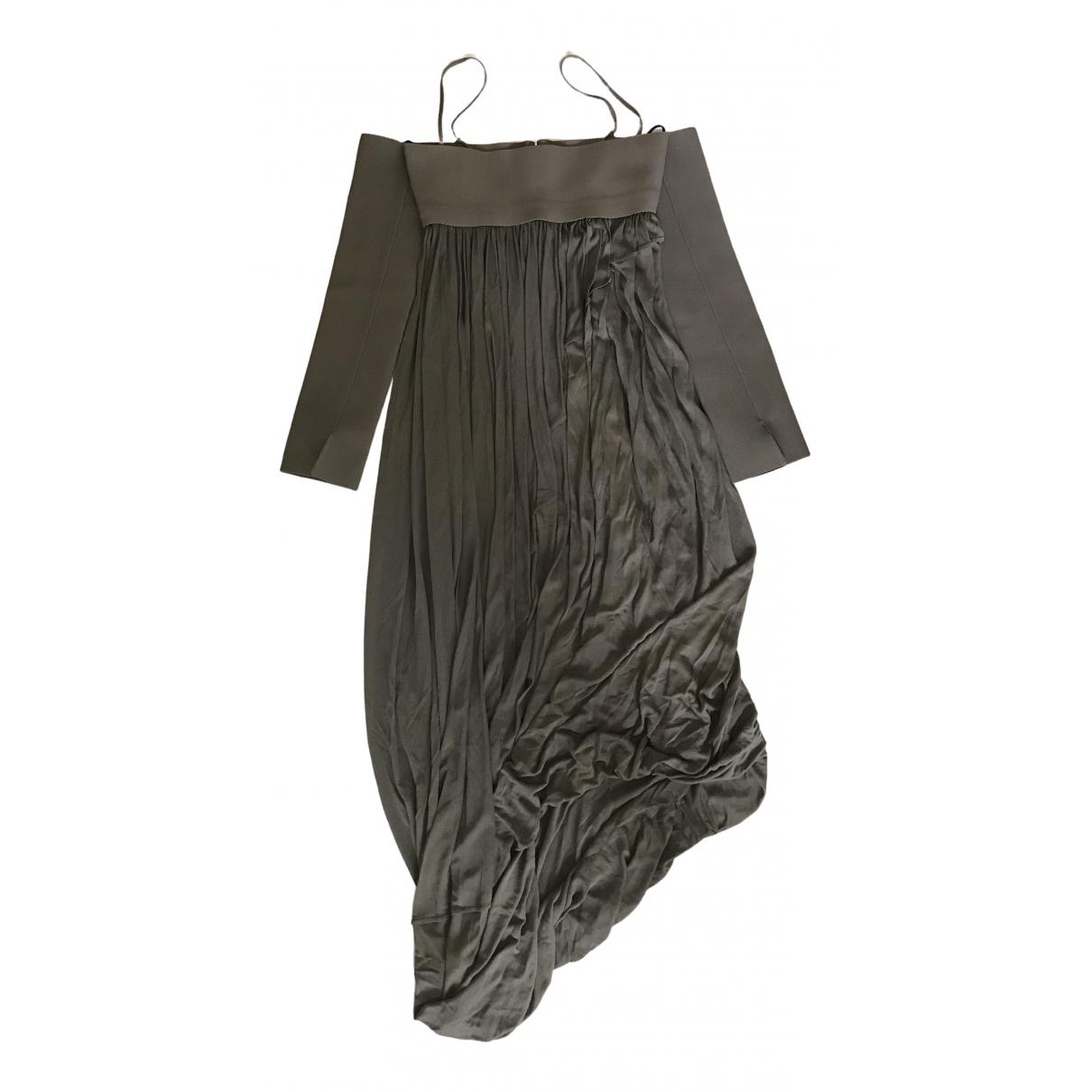 Celine \N Green dress for Women 38 FR