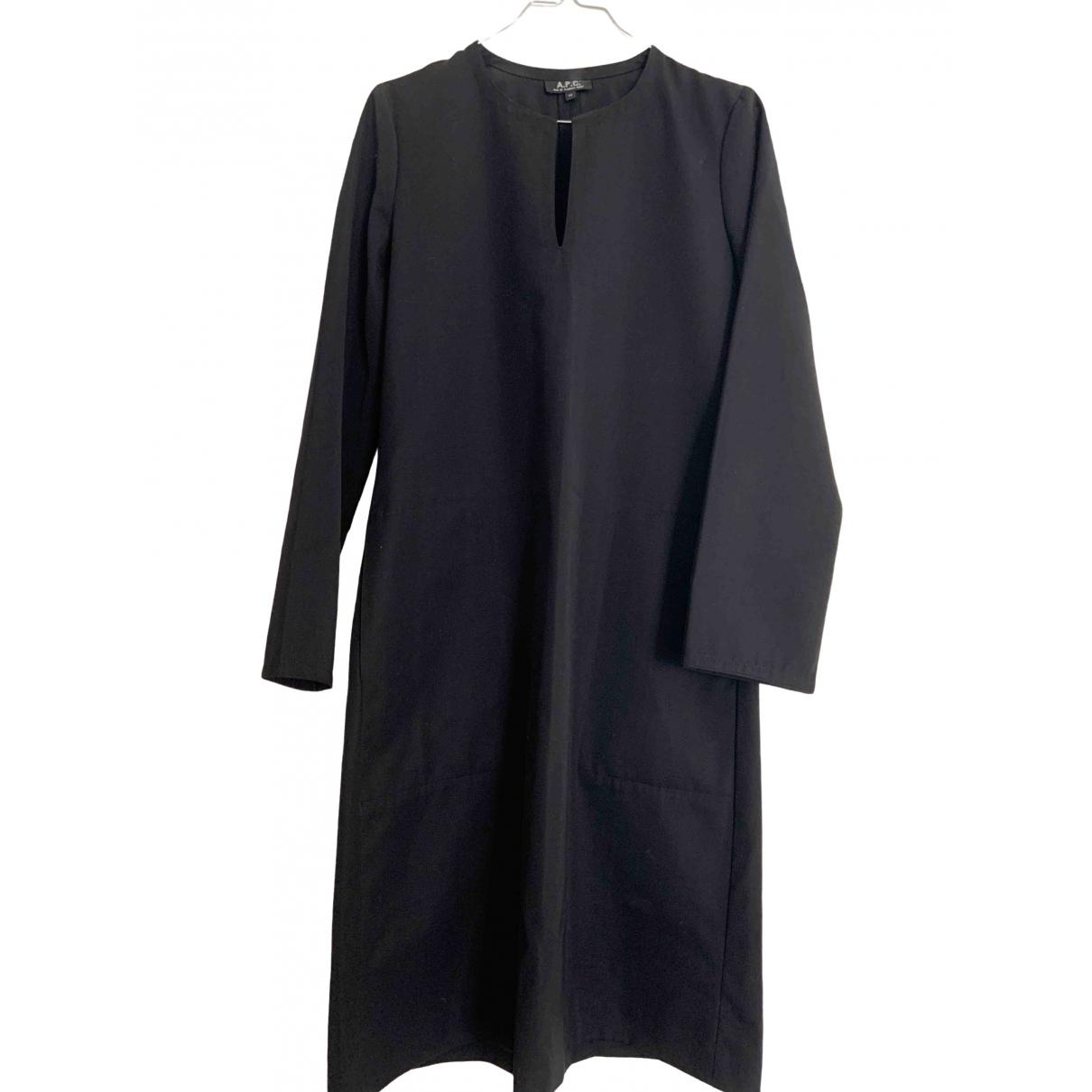 Apc \N Black Wool dress for Women M International