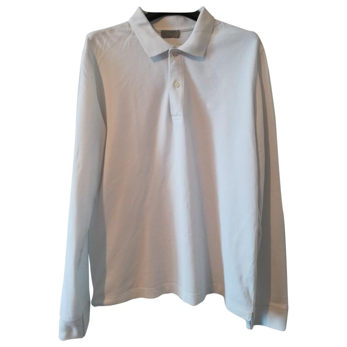 Dior Homme \N Poloshirts in  Weiss Baumwolle