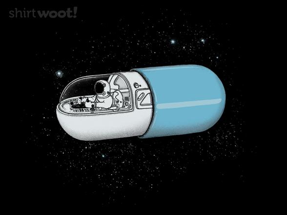 Space Capsule T Shirt