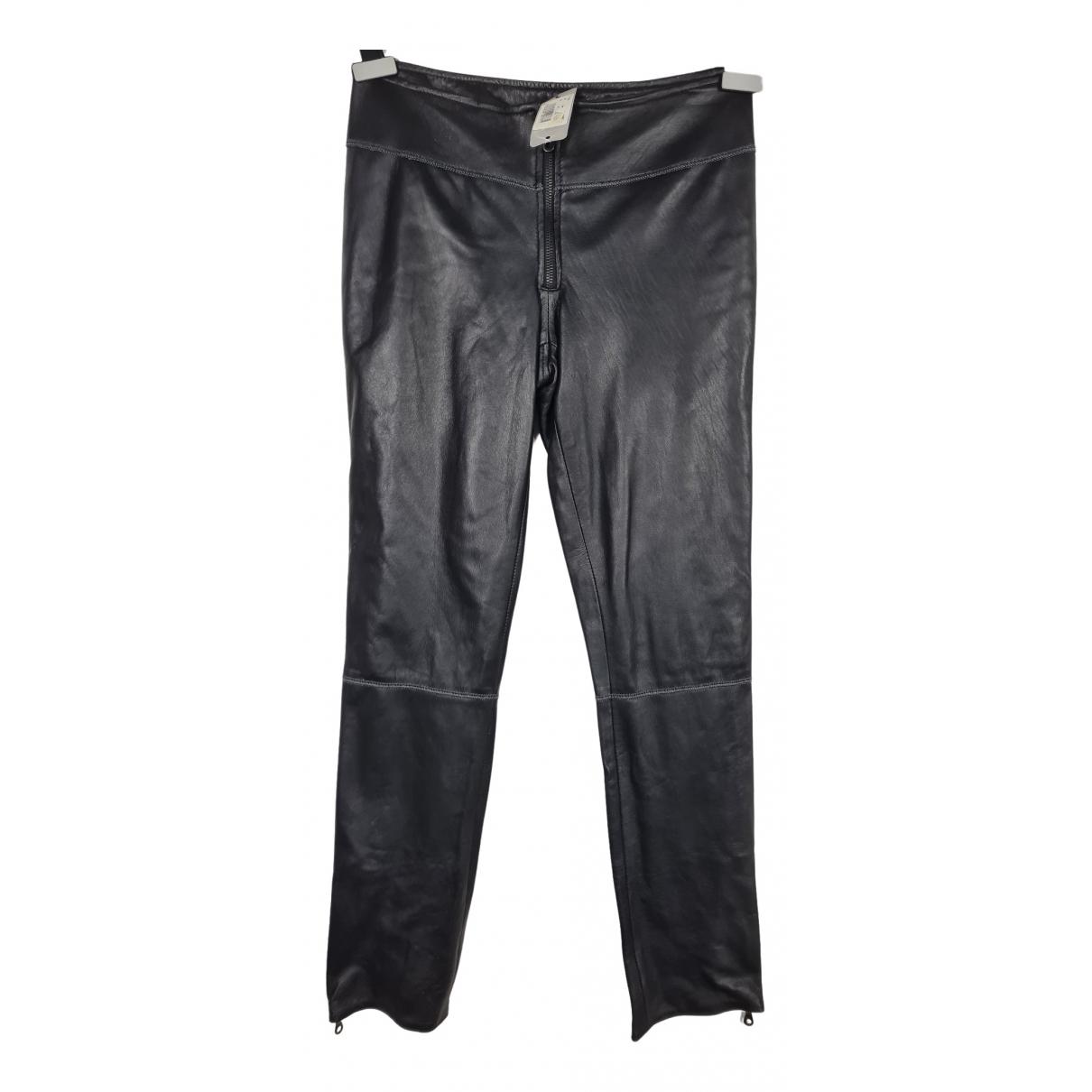 Pantalon pitillo de Cuero Stills Atelier