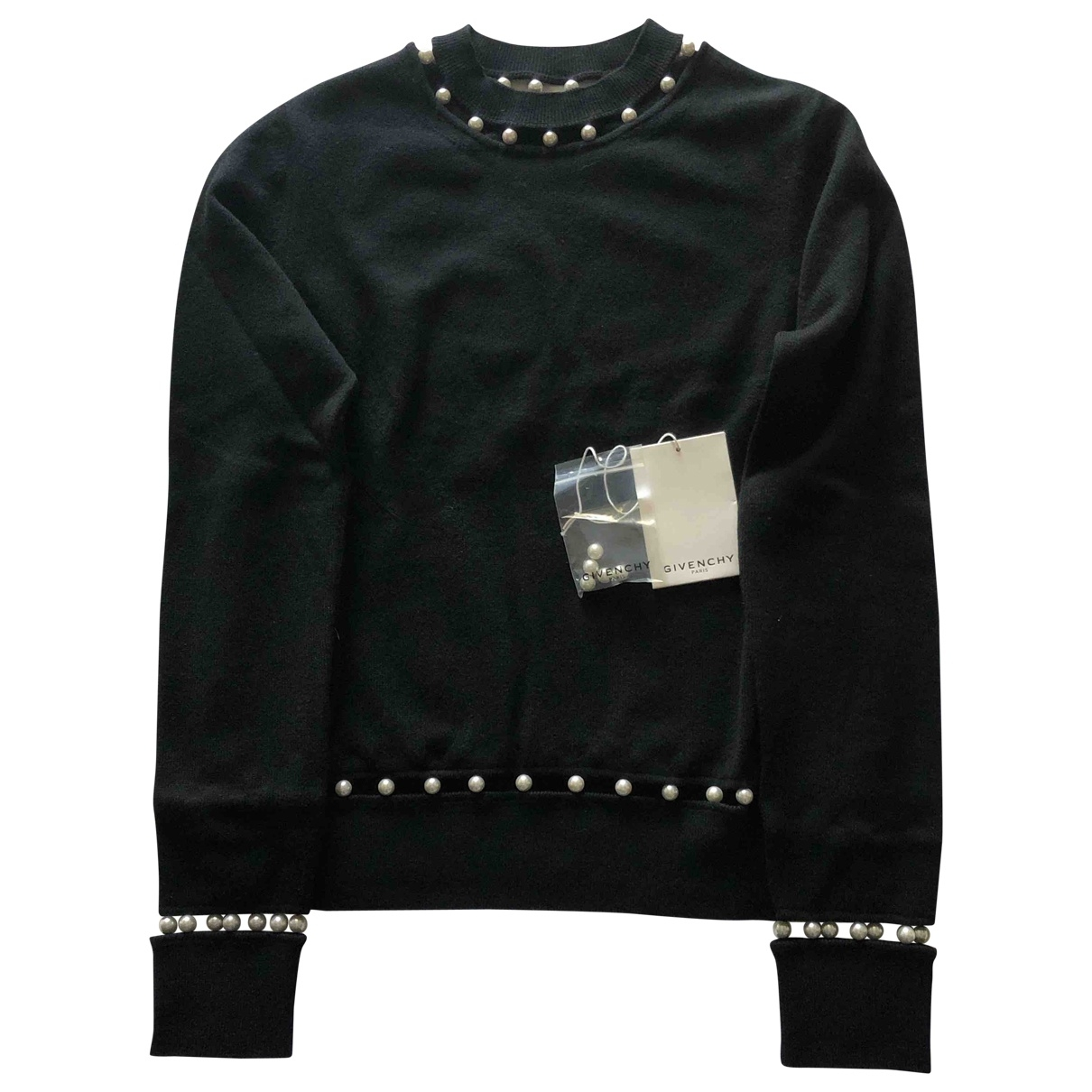 Givenchy \N Pullover in  Schwarz Wolle