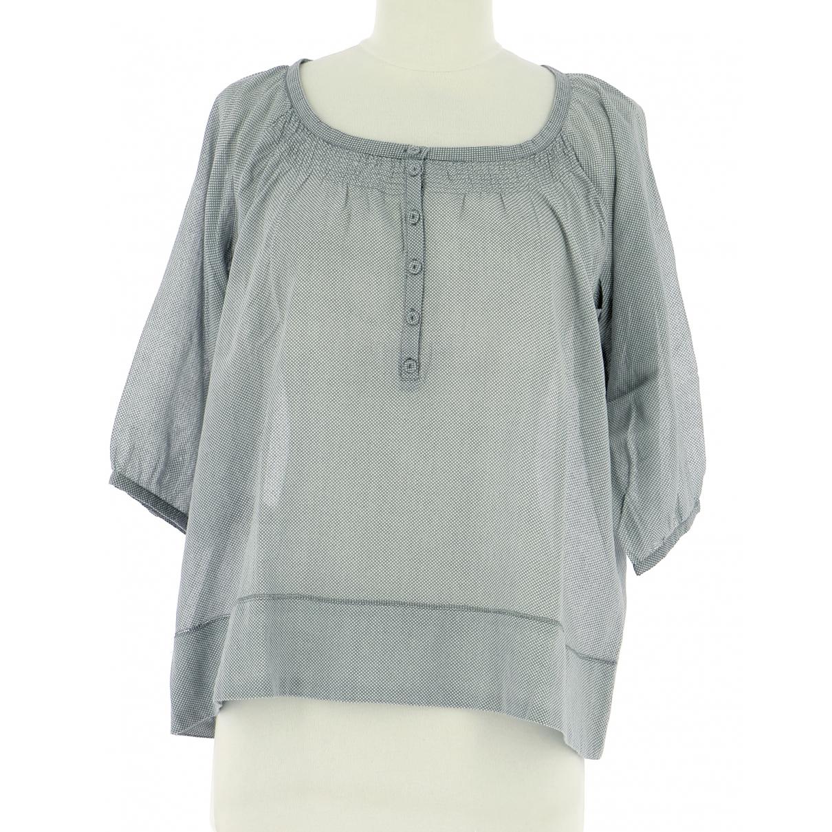 Comptoir Des Cotonniers \N Green Cotton  top for Women 38 FR