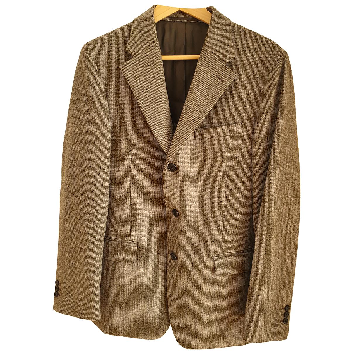Prada - Vestes.Blousons   pour homme en laine - gris