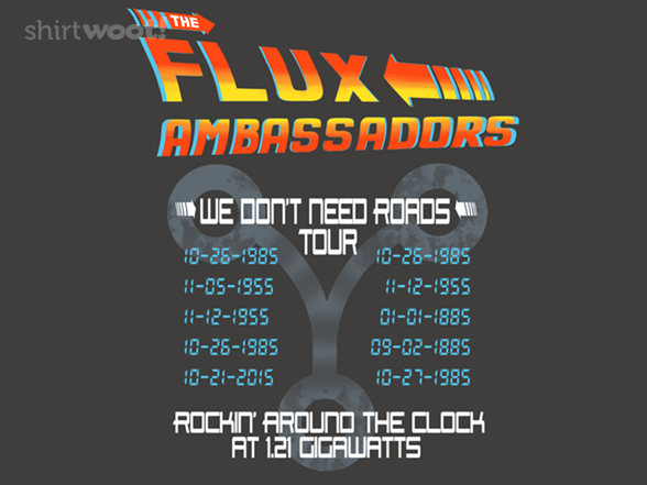 The Flux Ambassadors! T Shirt