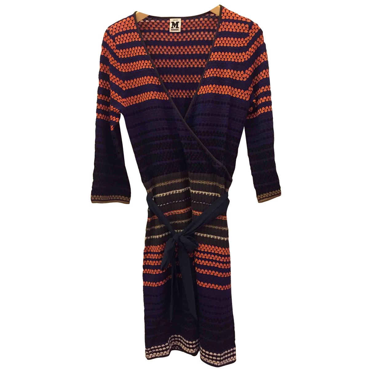 M Missoni \N Multicolour Cotton dress for Women 36 FR