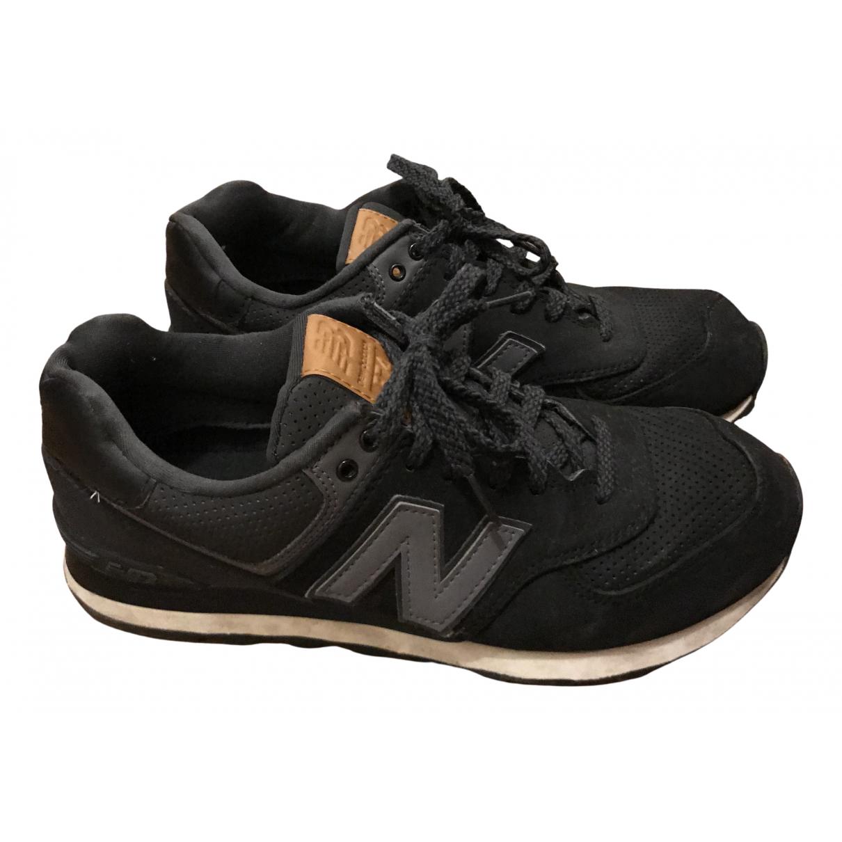 New Balance N Black Cloth Trainers for Men 42 EU