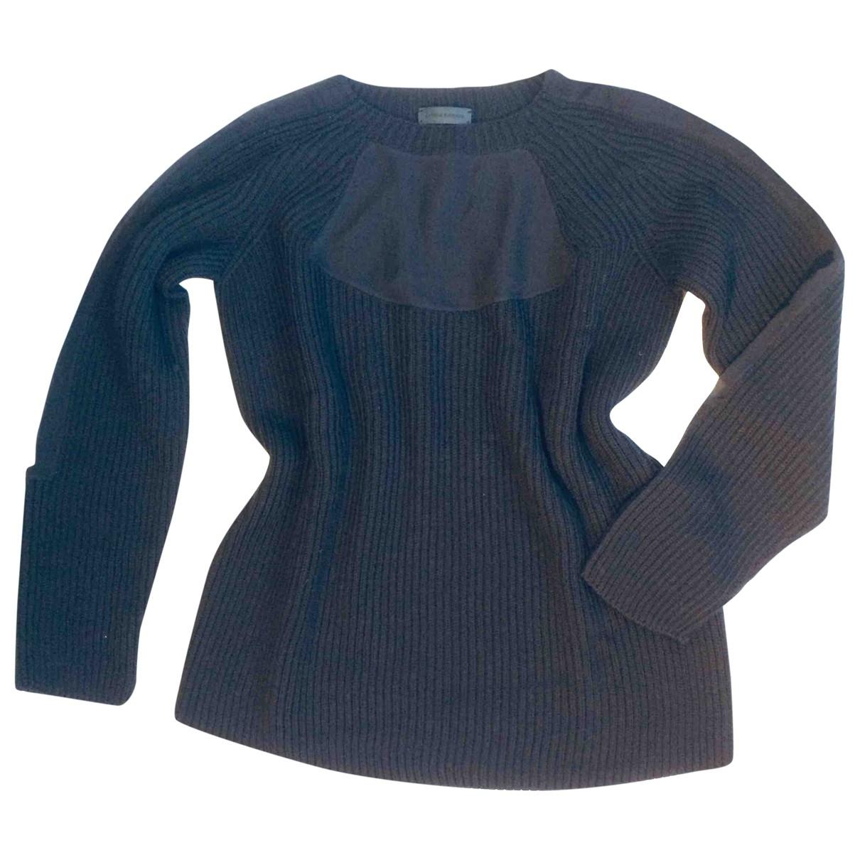 Costume National - Pull   pour femme en laine - noir