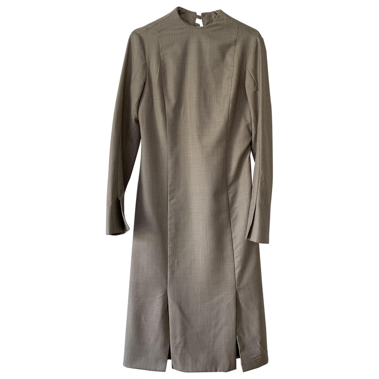 Freya Dalsjo \N Kleid in  Grau Wolle