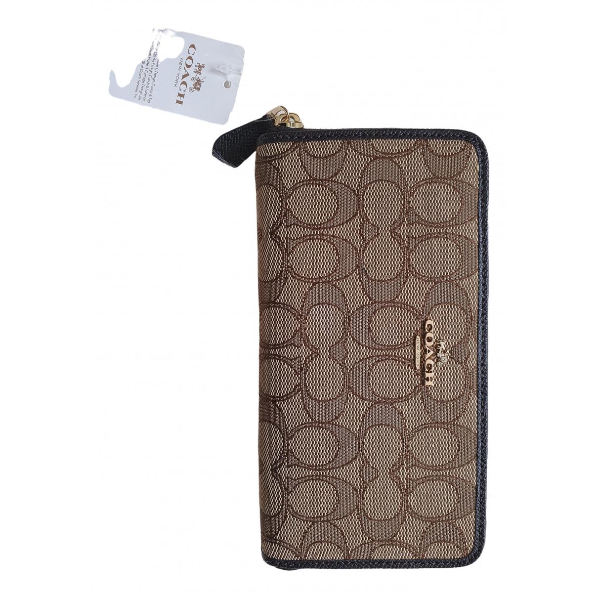 Coach \N Beige wallet for Women \N